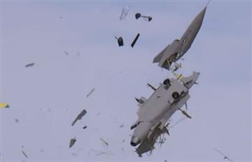 Avión no tripulado explota en medio de una prueba