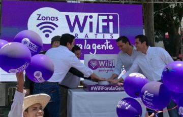 Inauguran primeros 100 puntos de internet inalámbrico gratis en Colombia