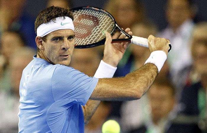 Juan Martín del Potro feliz por disputar su tercera final de Copa Davis