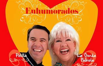 """La 'Gorda' Fabiola y 'Polilla' llegan con """"Enhumorados"""""""
