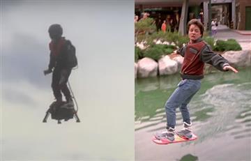 Récord: Hombre vuela al estilo de Marty McFly