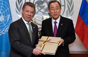 """""""Santos es el jefe de Estado más triunfante"""": Ban Ki-moon"""