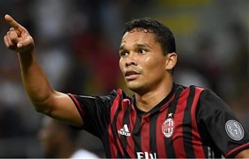 Carlos Bacca vale 90 millones de euros para el delegado del Milán