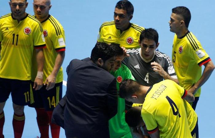 Colombia quedó afuera del Mundial de Fútbol Sala