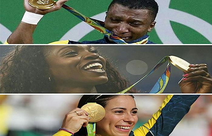 El emotivo homenaje del Canal Olímpico a los deportistas colombianos