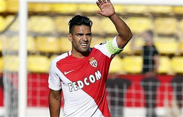 Falcao García sale lastimado tras impresionante choque