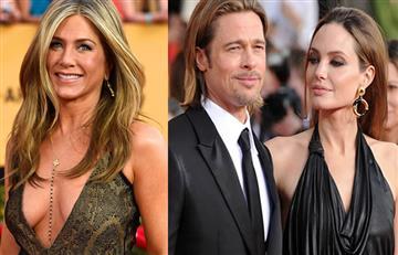 La reacción de Jennifer Aniston ante el divorcio de Brad Pitt y Angelina Jolie