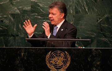Santos habla ante las Naciones Unidas