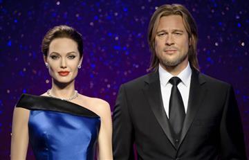 Angelina Jolie y Brad Pitt: Sus estatuas de cera son separadas