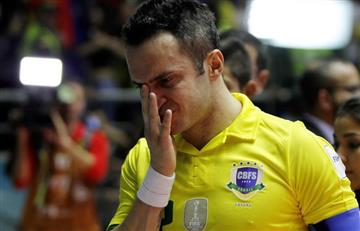 Falcao: Así le rinden homenaje al más grande del futsal en su despedida
