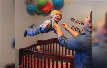 """Instagram: El niño con Síndrome de Down que puede """"volar"""""""