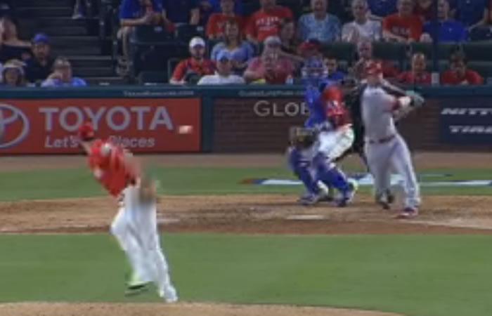 La increíble atrapada de Martínez en la MLB