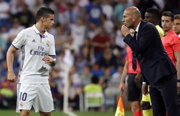 Malas noticias para Zidane, ¿buenas para James?