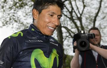 Nairo Quintana pierde el primer lugar de la UCI