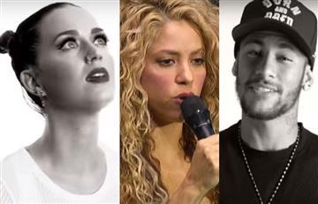 Shakira, Katy Perry y Neymar cantan nueva versión de Imagine