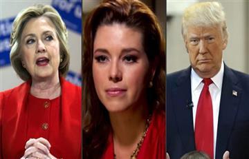 """Clinton: Trump llamó a Alicia Machado """"Miss cerdita"""" y """"Miss empleada doméstica"""""""