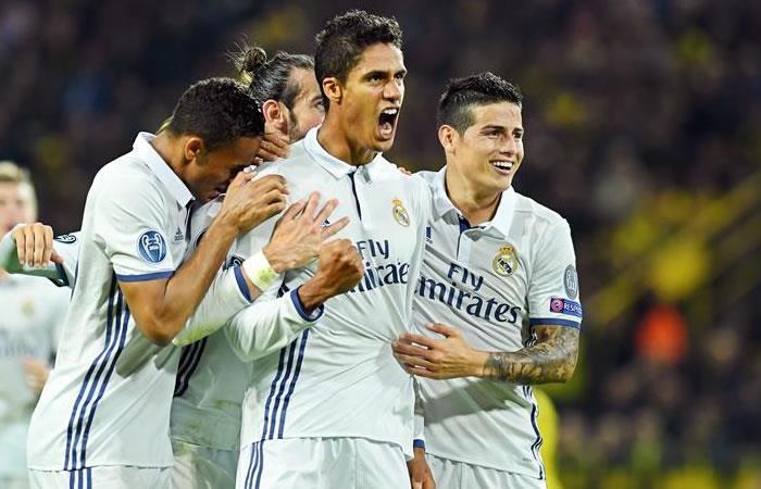 James Rodríguez jugó 70 minutos en el empate del Real Madrid