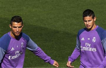 ¿James Rodríguez ha hecho enfadar a Cristiano Ronaldo?