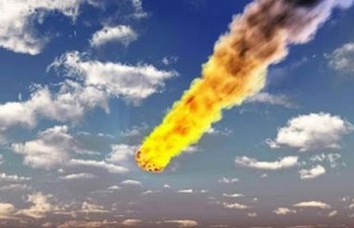 Meteorito cae en la costa de Australia