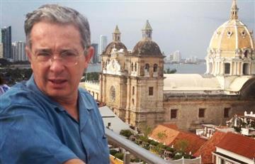 Uribe criticó a los países que acompañaron la firma de paz