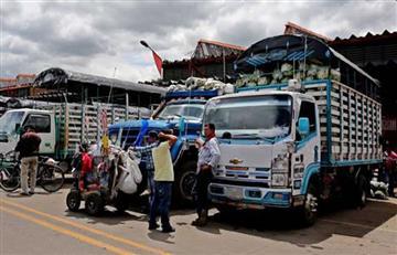 Camioneros amenazan con volver a paro por decreto de chatarrización