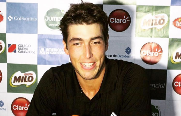 Él puede ser el tenista que pueda darle victorias al país