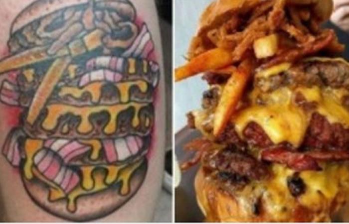 Hamburguesas gratis de por vida si te tatúas una