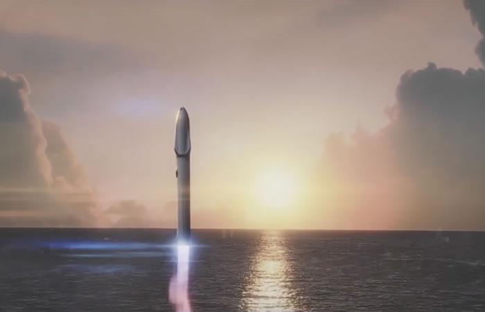 Elon Musk revela su plan para conquistar marte. Foto:youtube