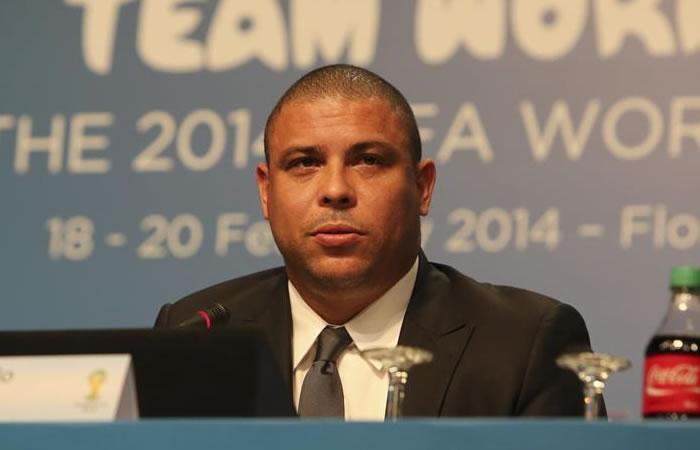 Ronaldo volverá a Bogotá con la FIFA. Foto: EFE