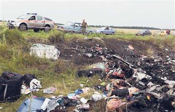 Rusia: Responsable de la tragedia del vuelo MH17