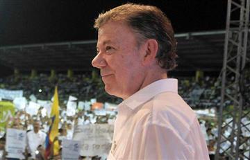 Santos dijo cuándo empezará el proceso de paz con el ELN