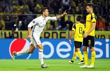Cristiano Ronaldo: humilde gesto con el hijo de un jugador del Borussia