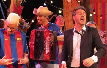 Neymar y Luis Enrique hacen parodia de 'La Bicicleta' de Shakira