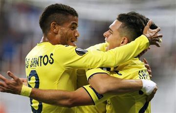 Santos Borré anotó su primer gol en Europa League