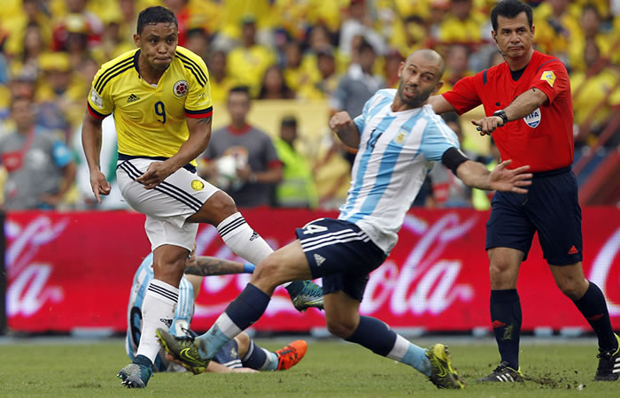Colombia y Argentina jugarán el 15 de noviembre. Foto: EFE