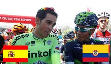Colombia no pudo alcanzar a España como el mejor de ciclismo