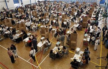 Atlántico: Fuertes lluvias retrasan a los jurados de votación