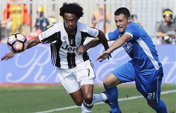 Cuadrado, figura en la victoria de la Juventus