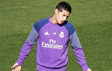 James Rodríguez no juega con el Real Madrid por esta razón