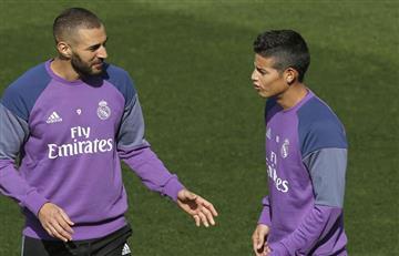 James Rodríguez: Real Madrid confirma lesión