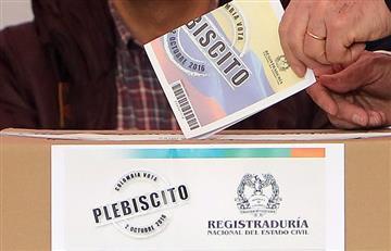 Plebiscito: Denuncian falta de insumos en Medellín e Ituango