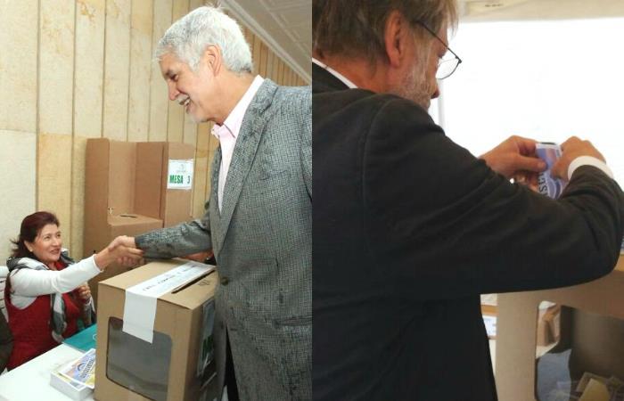 Plebiscito: Enrique Peñalosa y Antanas Mockus votaron por el 'sí'