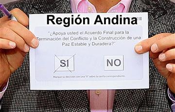 Plebiscito: Resultados de la Región Andina