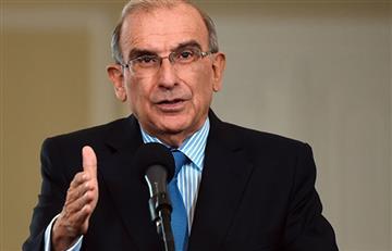 Humberto De la Calle presentó su renuncia como jefe negociador