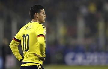 James Rodríguez: ¿Cómo formará la Selección Colombia sin él?