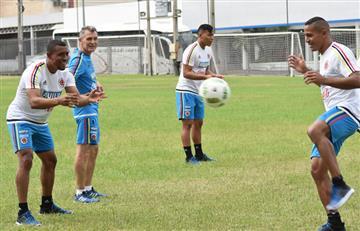 James Rodríguez no estuvo en el entrenamiento de la Selección Colombia