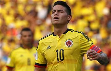 James Rodríguez viajará a Paraguay con la Selección Colombia