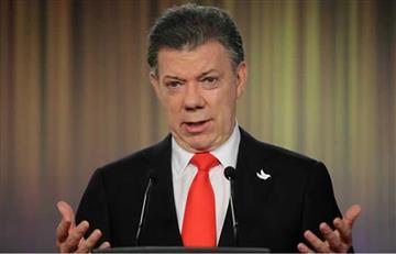 """Juan Manuel Santos: """"No me rendiré"""" en la búsqueda de la paz"""