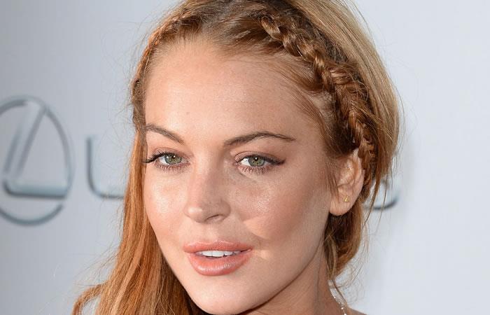 Lindsay Lohan perdió una parte de uno de sus dedos en un bote