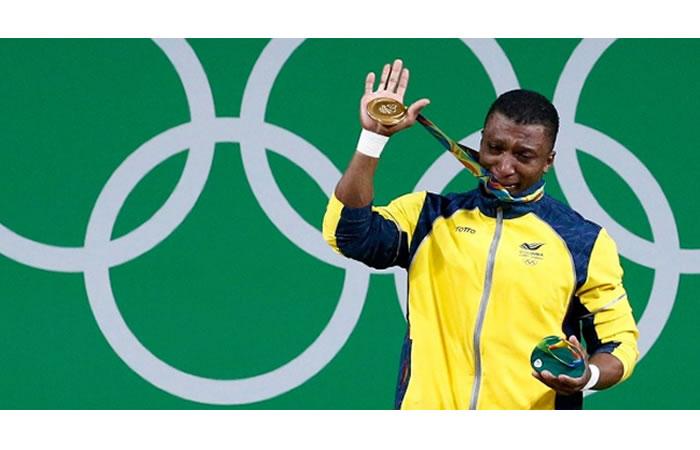 Óscar Figueroa podría perder su ORO olímpico